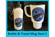 Drinks Bottle & Travel Mug Deal 1