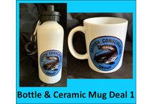 Drinks Bottle & Ceramic Mug Deal 1
