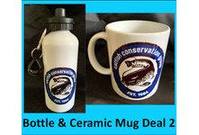 Drinks Bottle & Ceramic Mug Deal 2