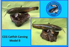 Catfish Carving Model B