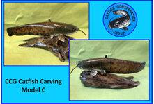 Catfish Carving Model C