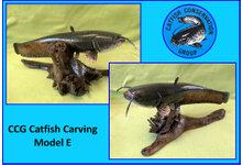 Catfish Carving Model E